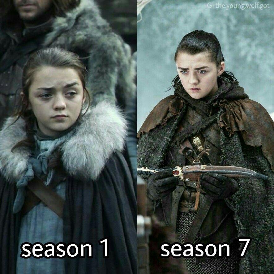 Arya Stark Queen I N The North Arya Stark Maisie Williams Game