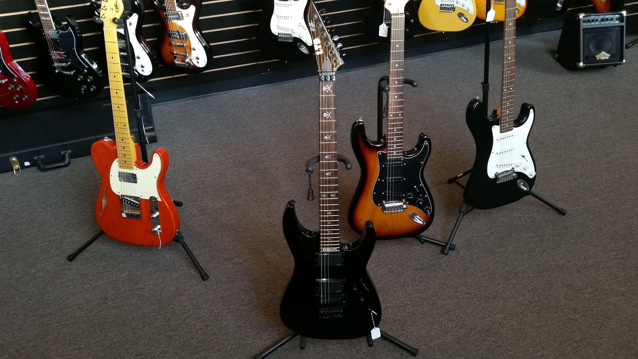 ESP LTD KH 602 Kirk Hammett Signature Series Guitar Black