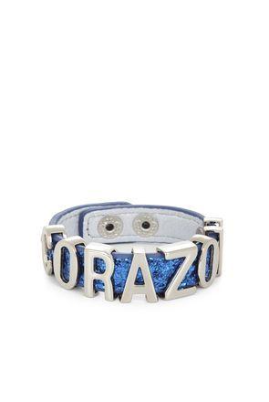 Corazon Glitter Affirmation Bracelet   BCBGeneration