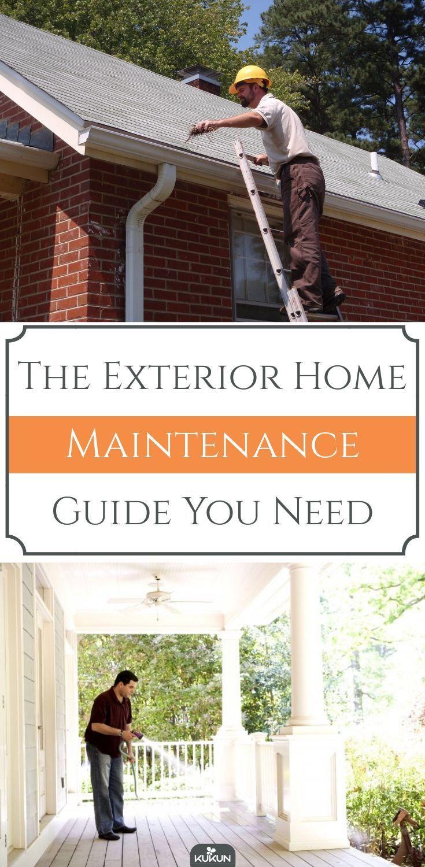 Photo of Den Exterior Home Maintenance Guide, den Sie benötigen –  Das Exterior Home Mai…