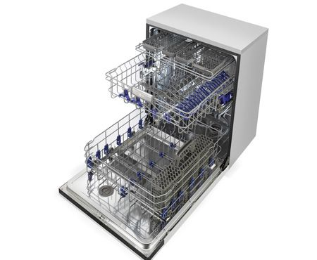 Lg Model Ldf7774st Dishwasher Has Three Racks 6 Cycles Hidden Smoothtouch Controls With Led Display