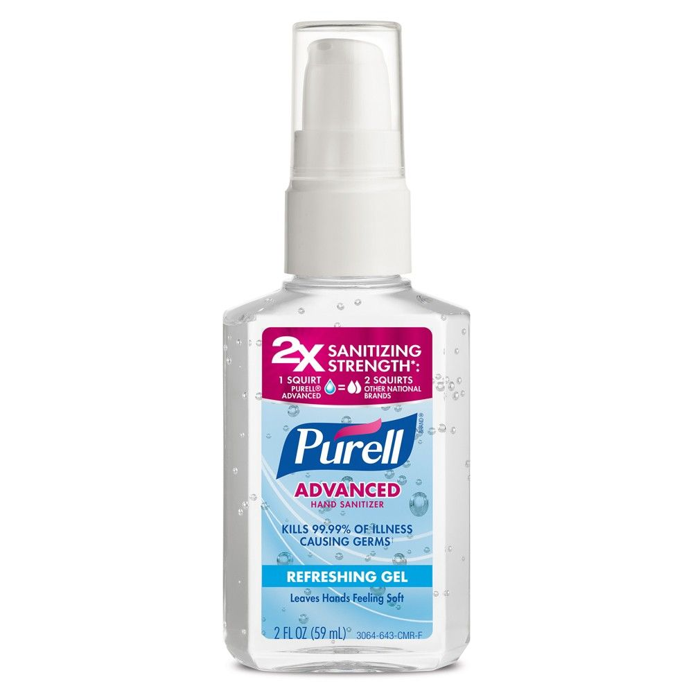 Purell Original Pump Hand Sanitizer Refreshing Gel In 2020 Hand