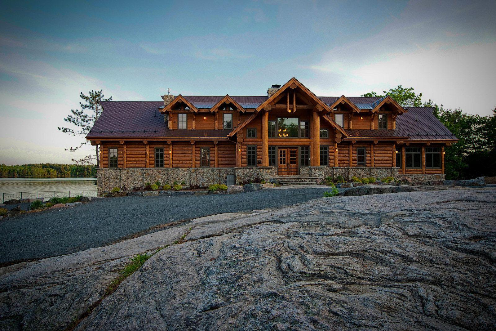 Hirsh Log Homes )   ( Hirsh Log Homes ) ONTARIO / BC - CANADA ...