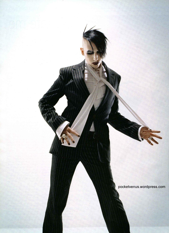 Maliryn Manson + vivien westwood campaign 2005