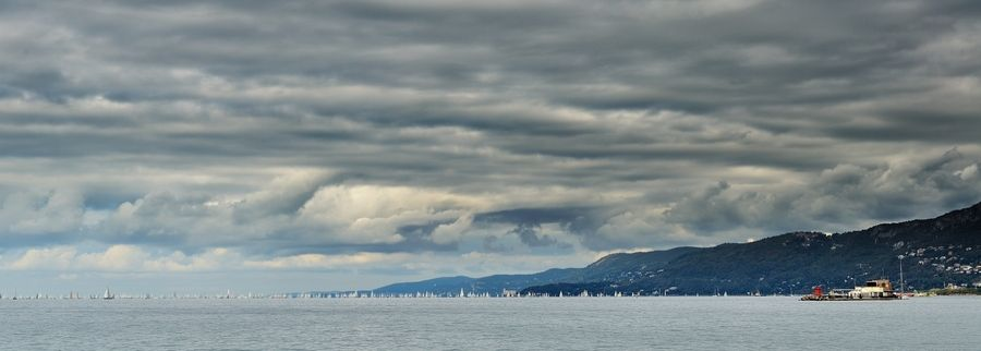 Barcolana Race. Trieste, Italy