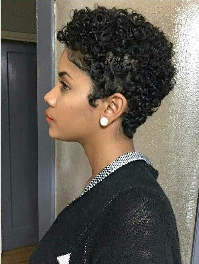 Curly Pixie Yesssss Short Natural Curly Hair Short Natural Hair Styles Natural Hair Styles