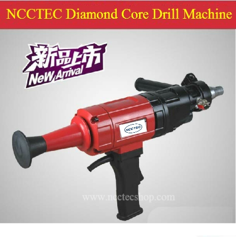 282.21$  Buy here - http://alizbq.worldwells.pw/go.php?t=918410187 - 6.4'' Hand-held diamond core drill machine FREE shipping | 160mm drill which the gear box oil is all the liquid | 2hp long life 282.21$