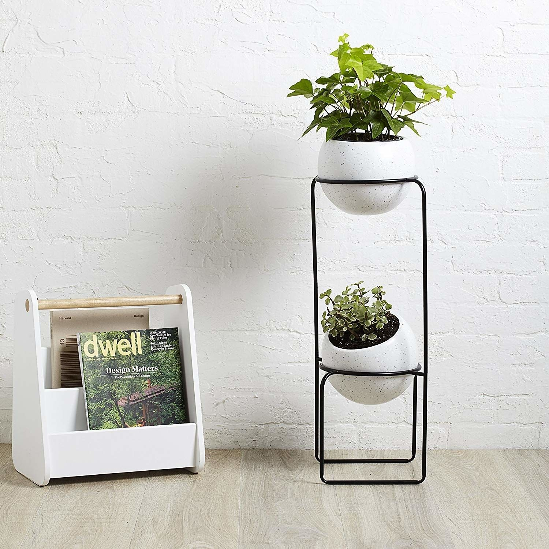 tilted flower pots amazon