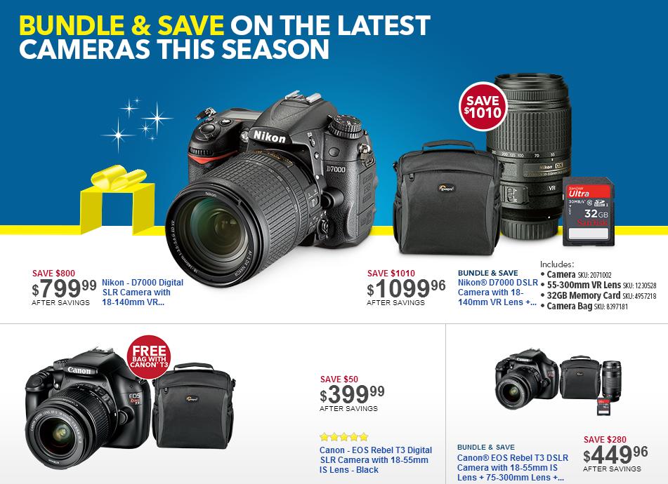 Camera-shopping tips for Black Friday