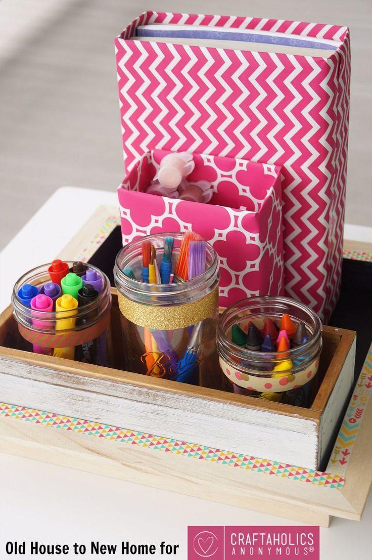 Back to School Supplies Organizer - -