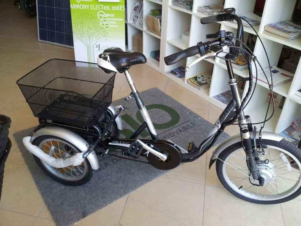 Vendo Splendida Bici Elettrica Tre Ruote Armony Lingotto Utilissima