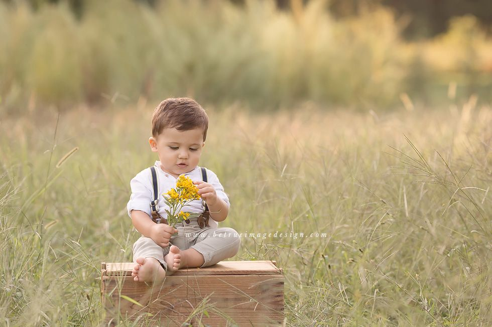 Handsome One Year Old Boy | Raleigh Baby Photographer | Raleigh ...