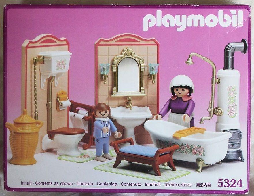 Playmobil Set 5324v1 Bathroom Klickypedia Infanzia Giochi