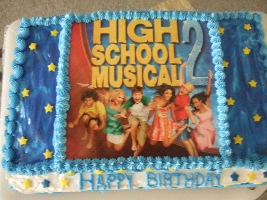 high school musical birthday cakes high school musical 2 cake this
