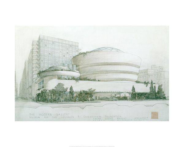 Guggenheim Museum,Frank Lloyd Wright Print,Minimalist Art,New York,Architectural print,Famous Architecture,Frank Lloyd Wright Solomon R