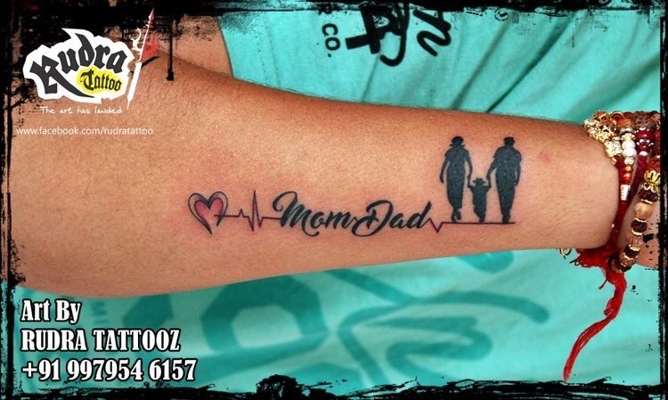 Pin By Akasharrives On Tatoo Dad Tattoos Mom Dad Tattoos Mom Dad Tattoo Designs