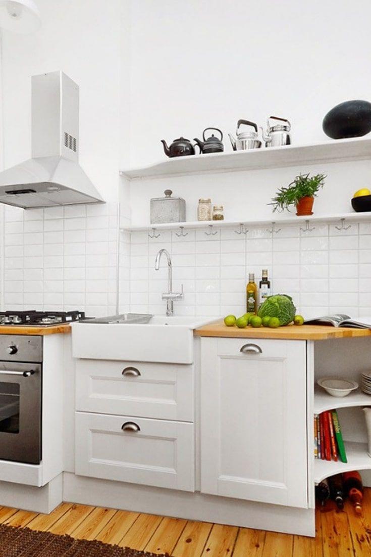 Best Small Kitchen Design 9   Small kitchen, Kitchen design ...