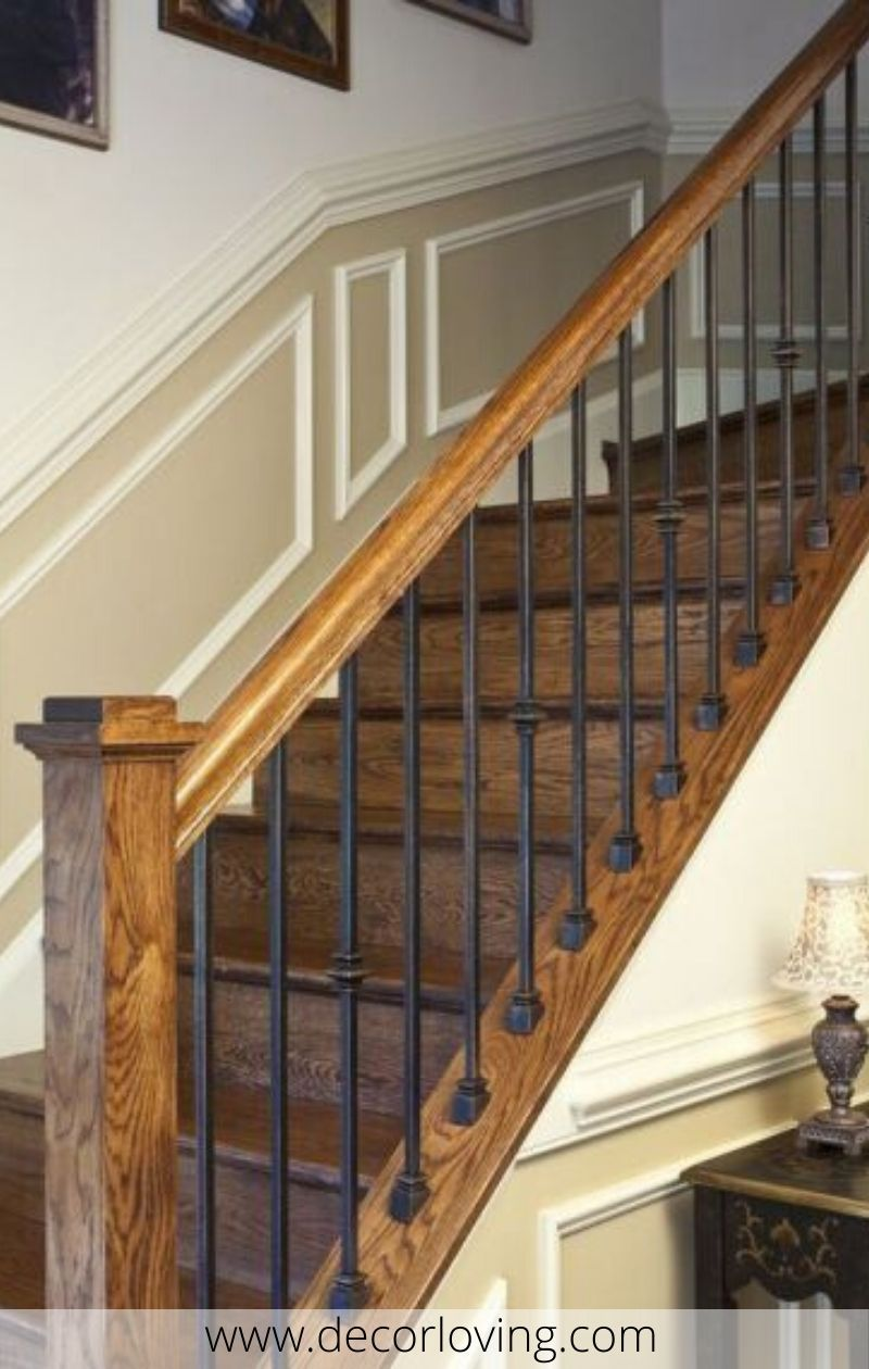 Stair Railing Ideas For Home Decor You Must Try