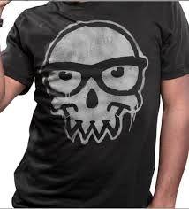 Resultado de imagen para skull with glasses