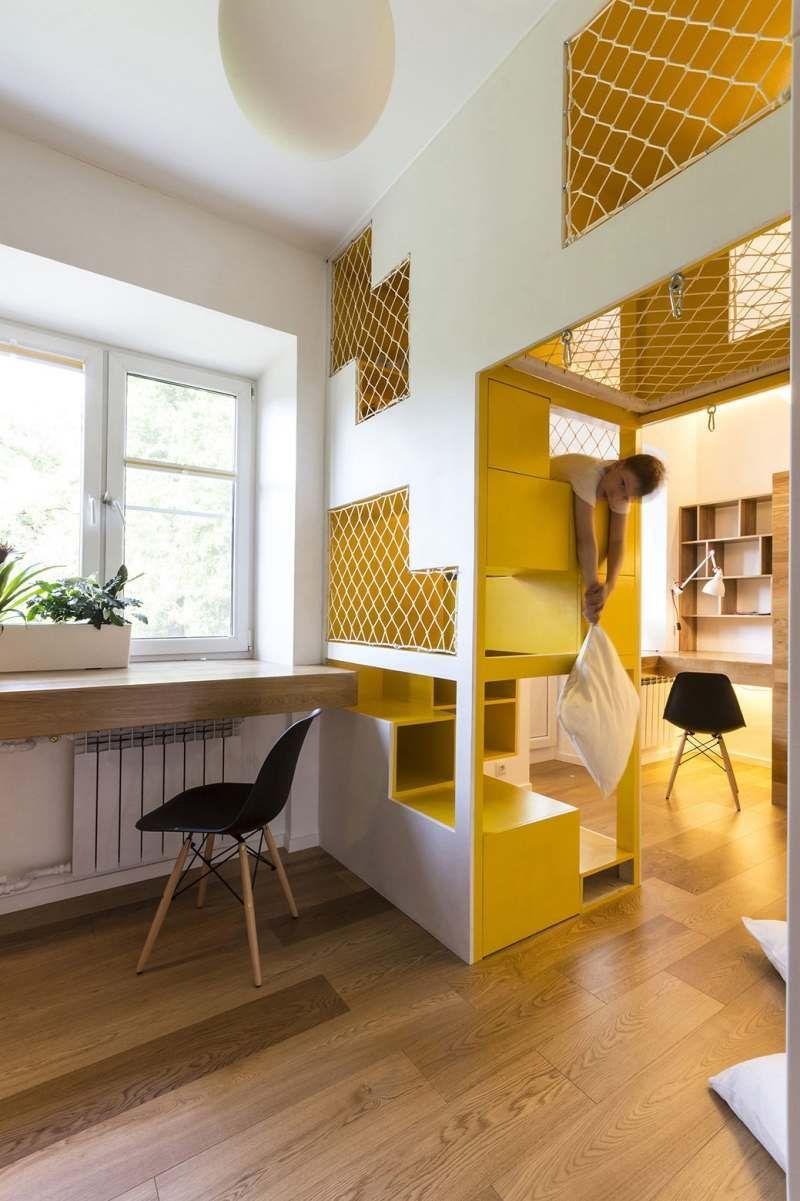 Aménagement intérieur: chambre enfant design super original   Indoor ...