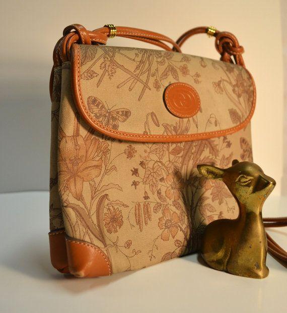 8abde6954b0df9 Authentic Vintage Gucci bag purse / Gucci Flora by stellanjune, $429.50