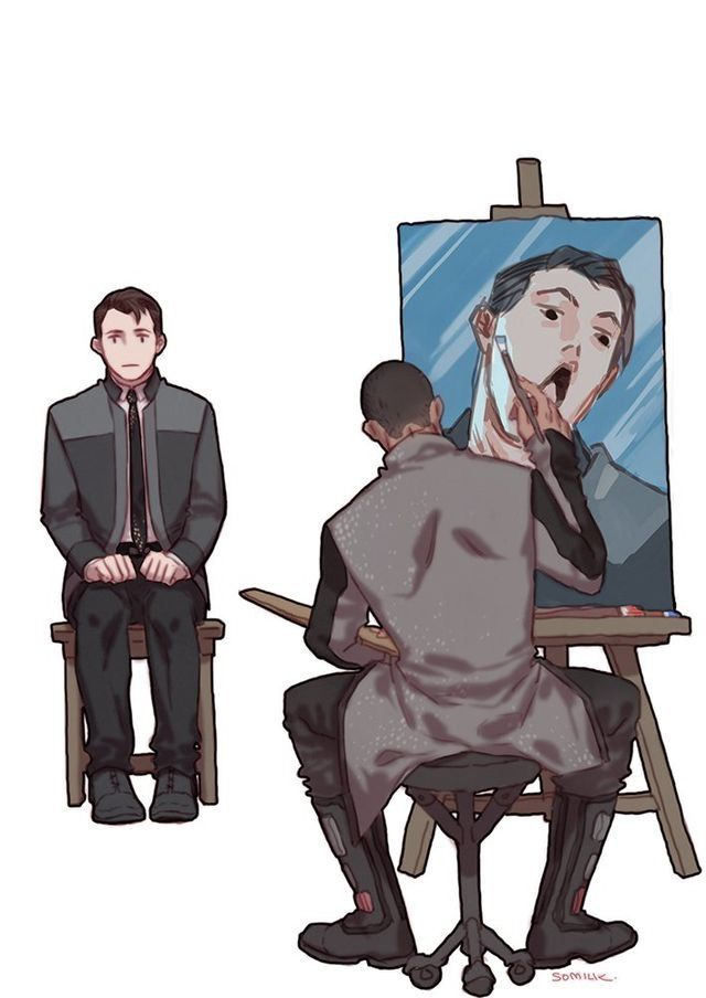 detroit become human dbh detroitbecomehuman connor rk800