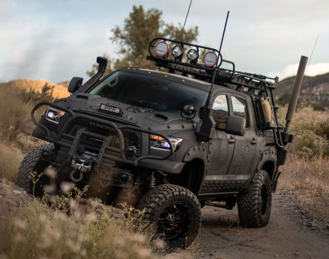 This truck is ready for the zombie apocalypse. in 2020