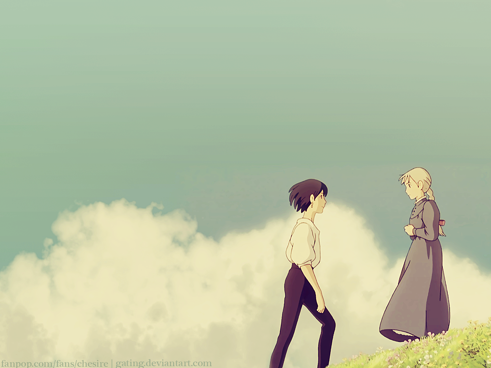 Howl S Moving Castle Wallpaper Howl S Moving Castle Wallpaper Howls Moving Castle Wallpaper Howl And Sophie Howls Moving Castle