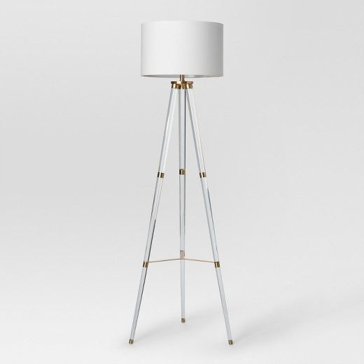 Delavan Metal Tripod Floor Lamp Project 62 Tripod Floor Lamps Floor Lamp Floor Lamps Living Room