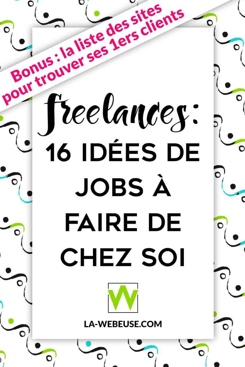 travail  u00e0 domicile   20 id u00e9es pour devenir freelance web