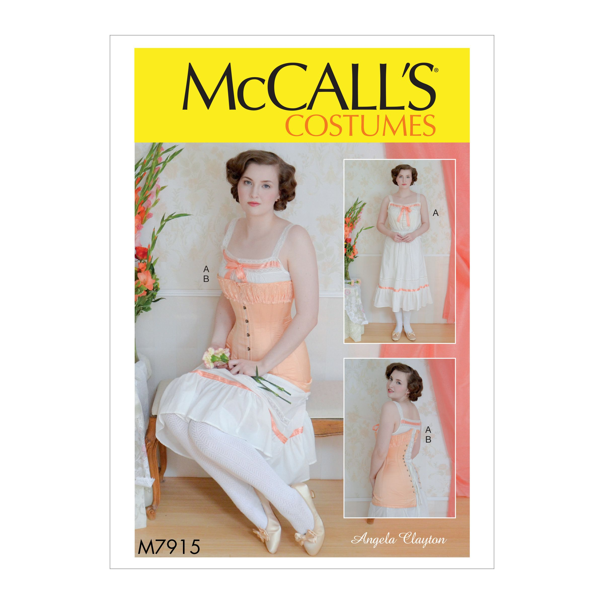 McCall/'s 7555 Misses/' Costume  Sewing Pattern