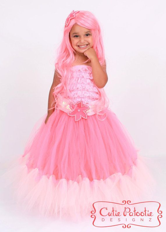 Coral Mermaid Halloween or Birthday Costume | TODO TUTU | Pinterest
