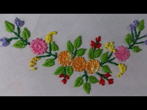 Hand Embroidery Tutorial Mirror Work Romanian Couching Stitch Design For Cushions Covers Yo Desenhos Bordados A Mao Padroes De Bordado Hardanger Bordado