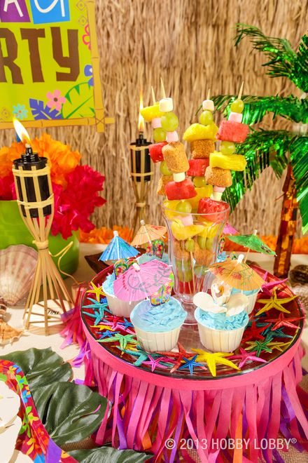 Pin By Hobby Lobby On Party Ideas Luau Theme Party Luau Party