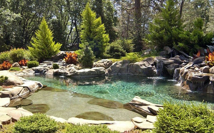 29 Stunning Lagoon Swimming Pool Designs Natural Pool Backyard