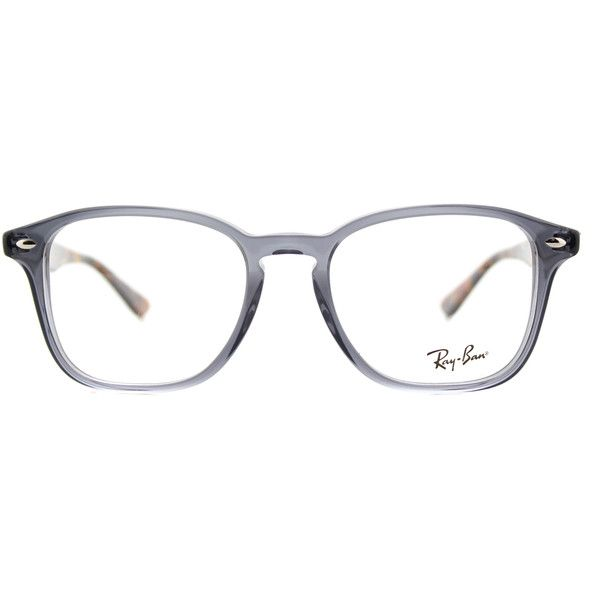060a5d40808 Ray-Ban RX 5352 5629 Opal Grey Square Plastic Eyeglasses - 52mm (1