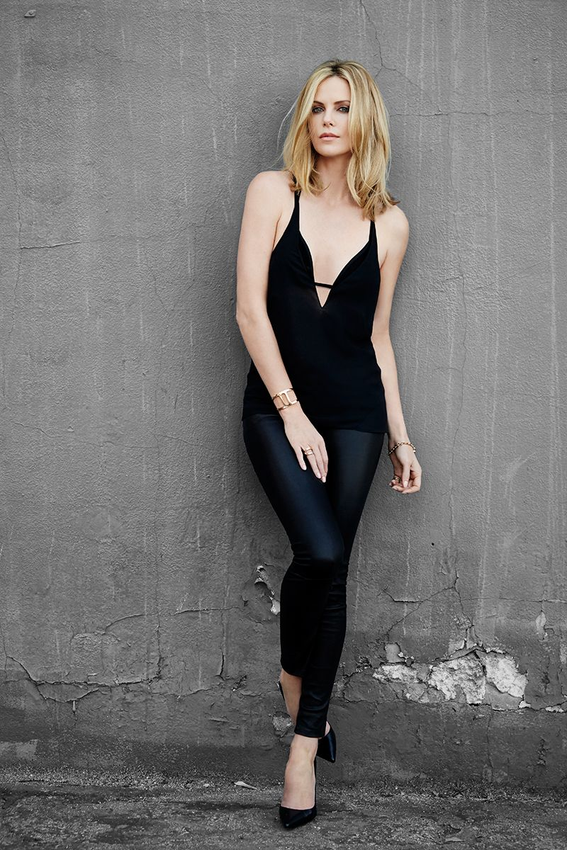 charlize theron photoshoot