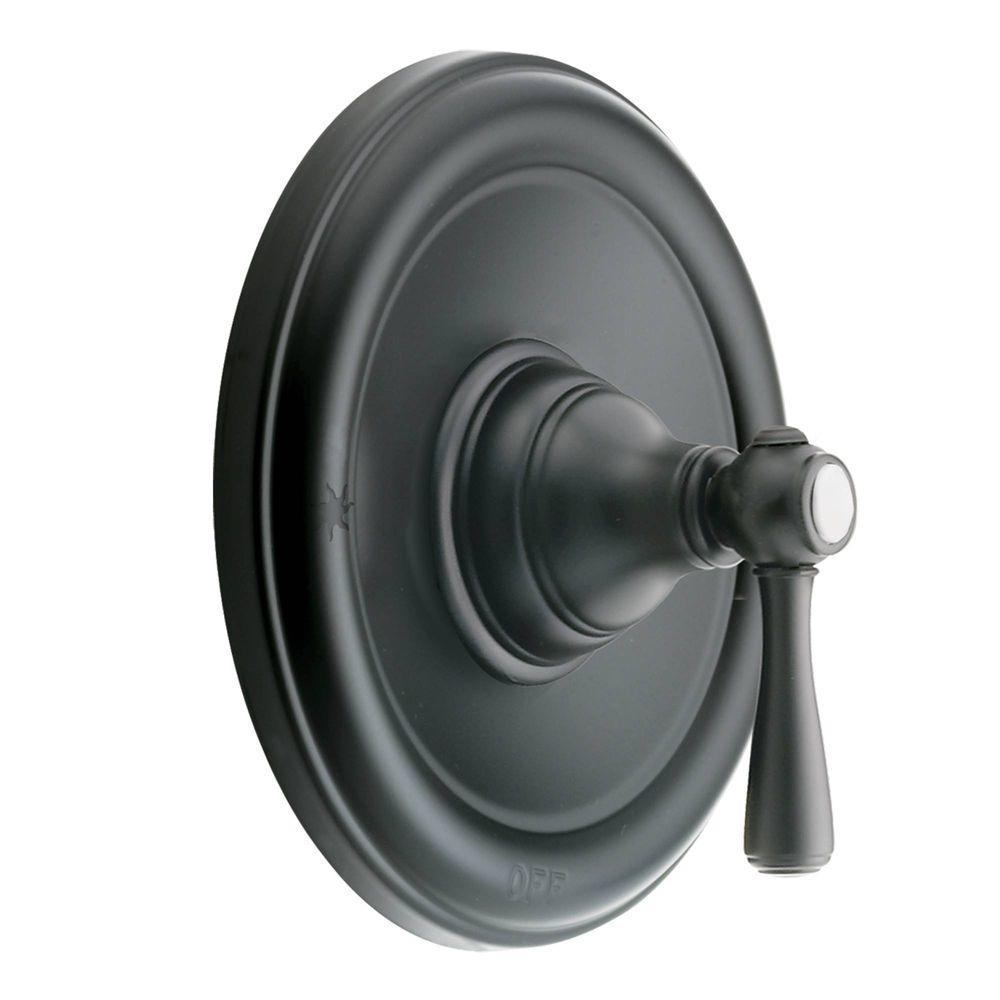 MOEN Kingsley Posi-Temp 1-Handle Valve Trim Kit in Wrought Iron ...