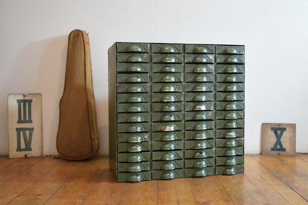 Schubladenschrank Loft Vintage IndustrieDesign Antik ...