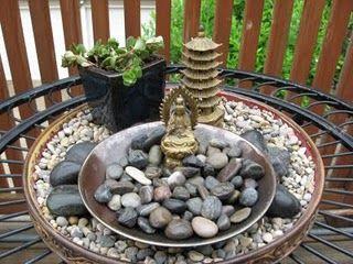 Superbe My Asian Inspired Fairy Garden With Chinese Sedum.