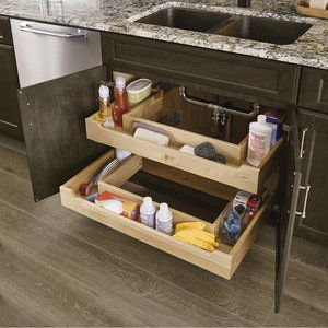 Sink Base Roll-Out Trays | Home: Kitchen ideas | Pinterest | Sinks Rolling Base Kitchen Cabinet Ideas on base kitchen cabinet printable templates, wood kitchen cabinets ideas, base kitchen cabinet plans, painted kitchen cabinets ideas, base kitchen cabinet organizers, base kitchen cabinet styles, base crown molding ideas, base kitchen cabinet colors,