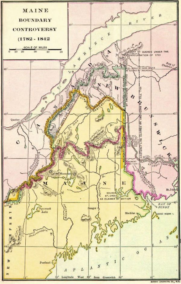 The Republic Of Madawaska A Short Lived Nation On The Us Canadian Border Northern Maine Teaching American History Genealogy History