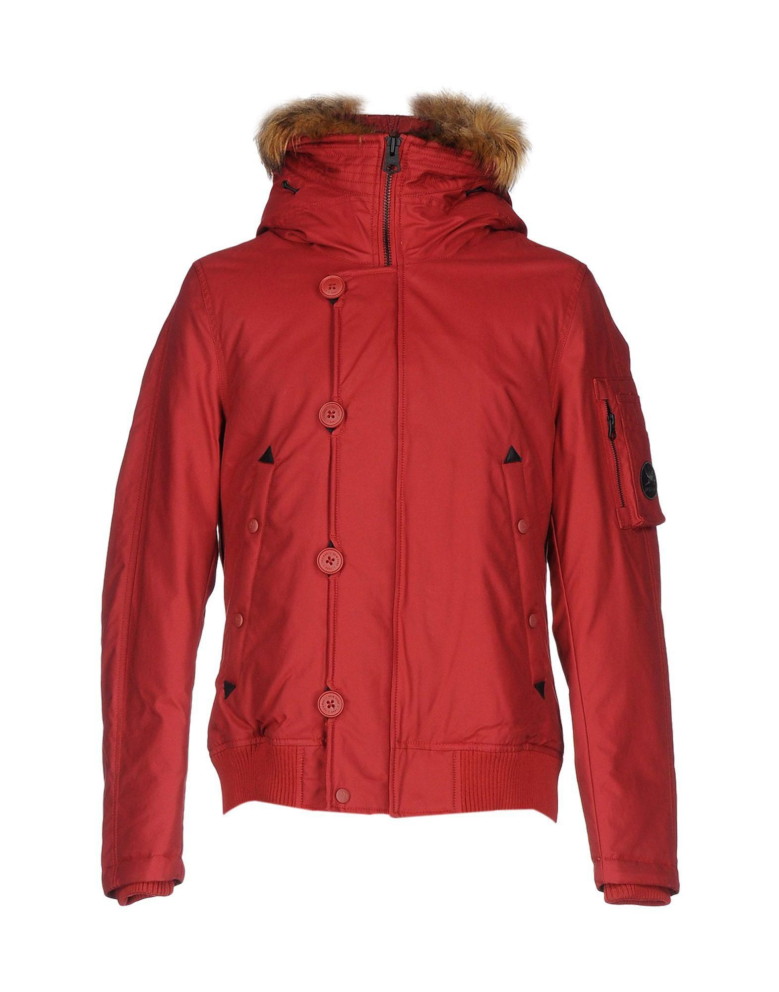 740b88400f2ad Men's Red Down Jacket | parka jackets | Jackets, Rain jacket, Parka