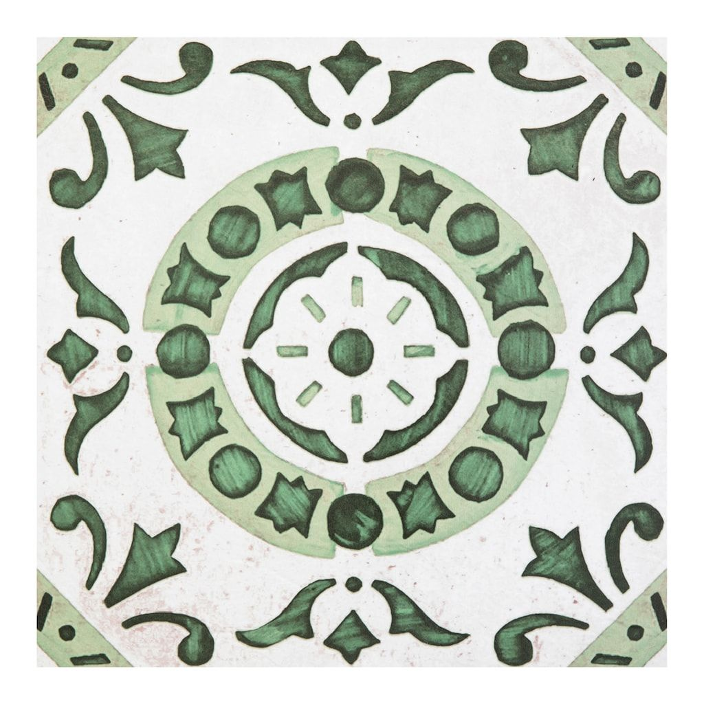 Achim Retro Green Medallion 12x12 Self Adhesive Vinyl Floor Tiles Set Of 20 In 2020 Vinyl Flooring Retro Vinyl Flooring Vinyl Tile