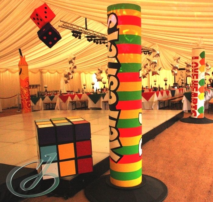 Retro Dance Party Decoration Ideas If You Find A Prop