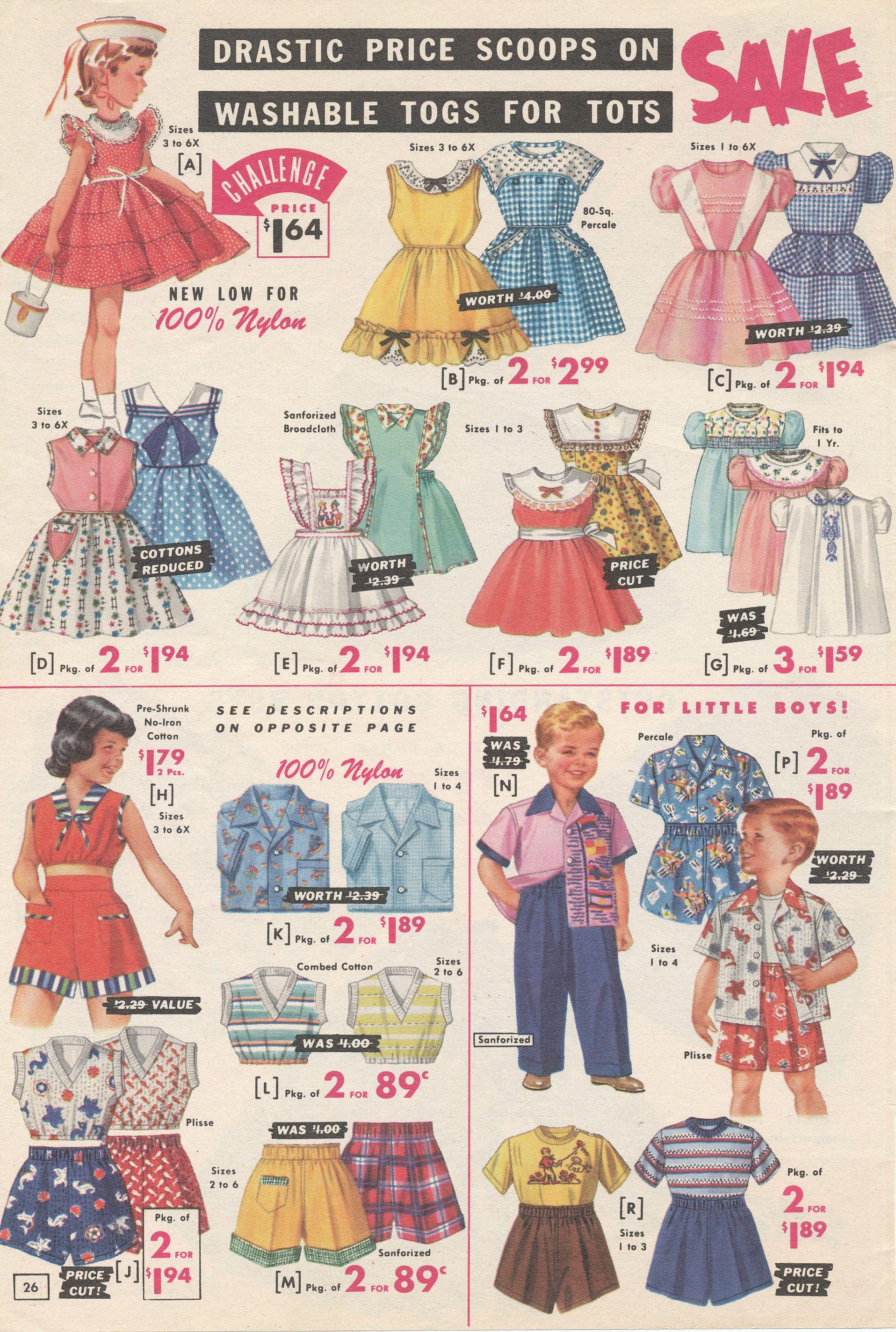 4e55b6829 Vintage Style Children's Clothing: Girls, Boys, Baby, Toddler | Kids ...