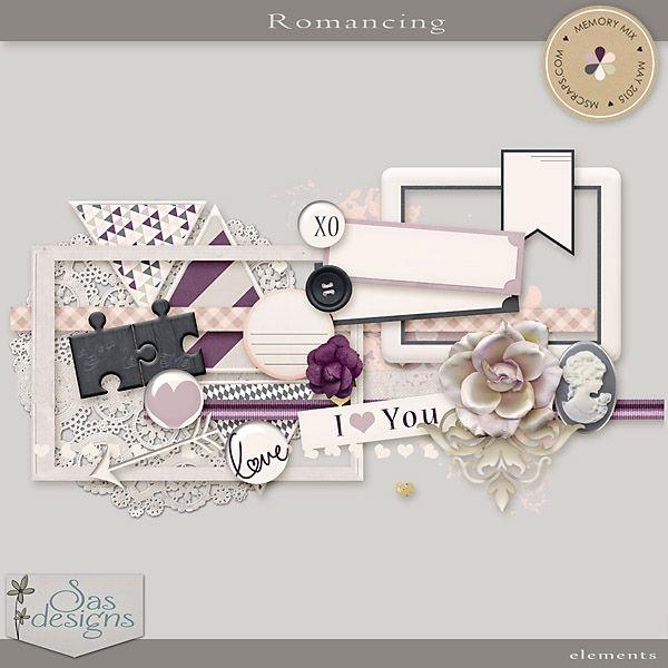 Romancing - Elements | SAS Designs