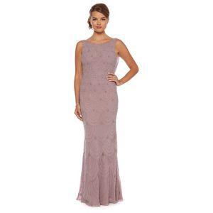 Debut Lilac Beaded Scallop Maxi Dress At Debenhams Mobile
