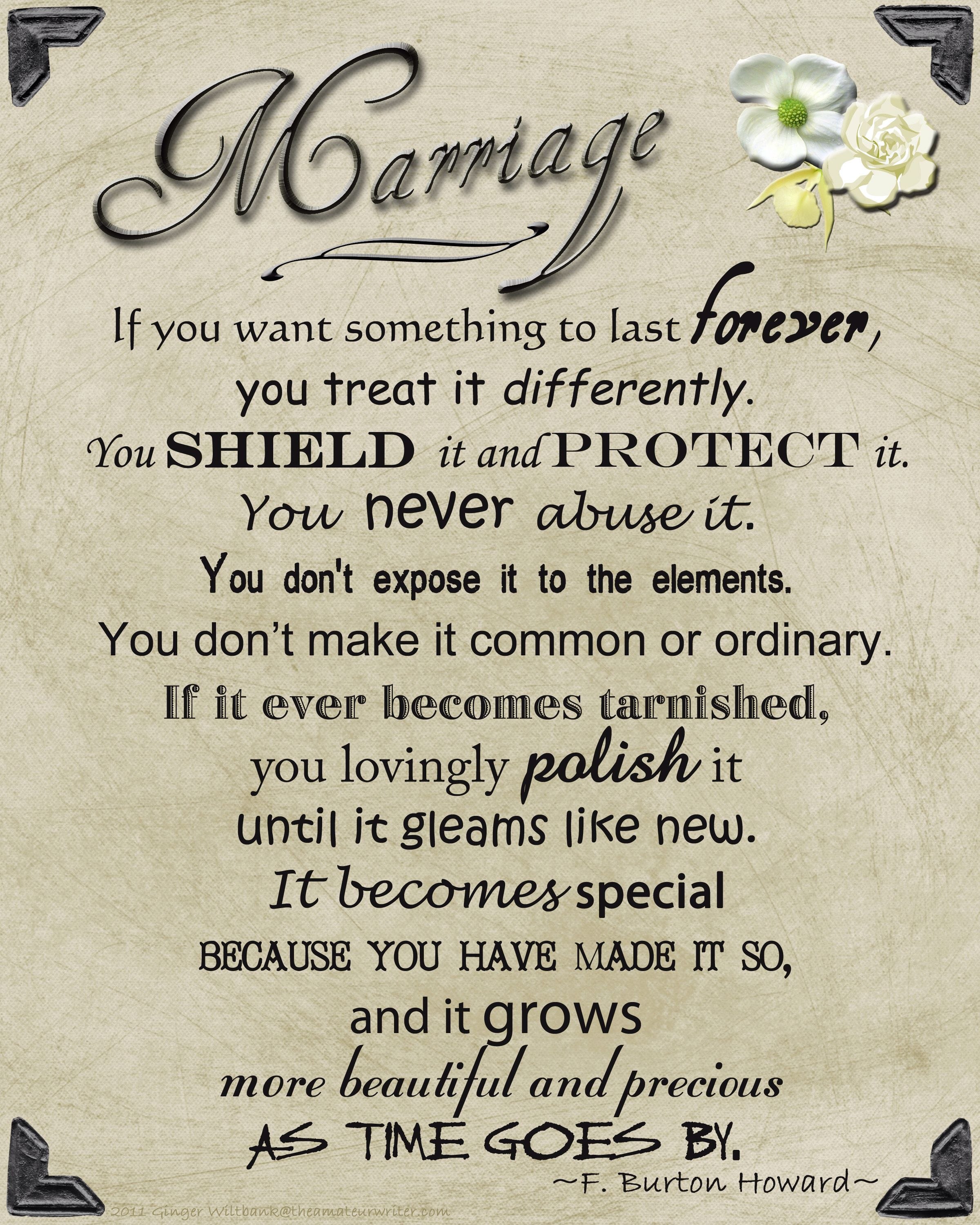 Marriage Poem For Legacy Table Where You Can Put Family Wedding Photos Marriage Quotes Words Of Wisdom Wise Words