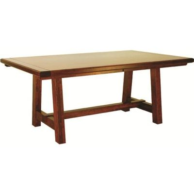 Dining Table Mansfield Furniture Made In Usa Builder75 Available At Amish  Oak And Cherry